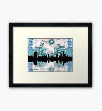 City of Many Suns Framed Print