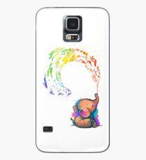 Baby Elefant Hülle & Klebefolie für Samsung Galaxy