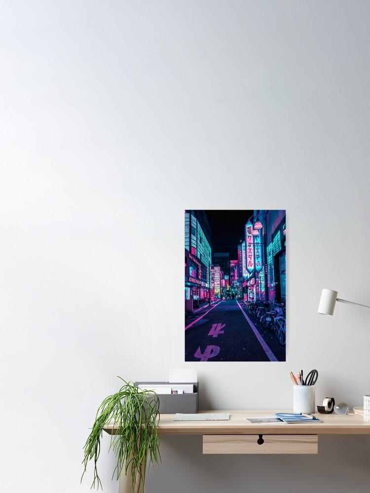Alternate view of Tokyo - A Neon Wonderland Poster