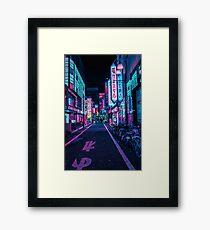 Tokyo - A Neon Wonderland Framed Print