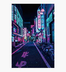 Tokyo - A Neon Wonderland Photographic Print