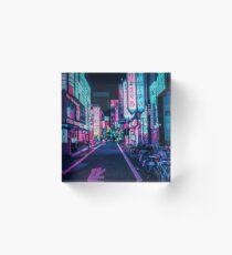 Tokyo - Un pays des merveilles au néon Bloc acrylique