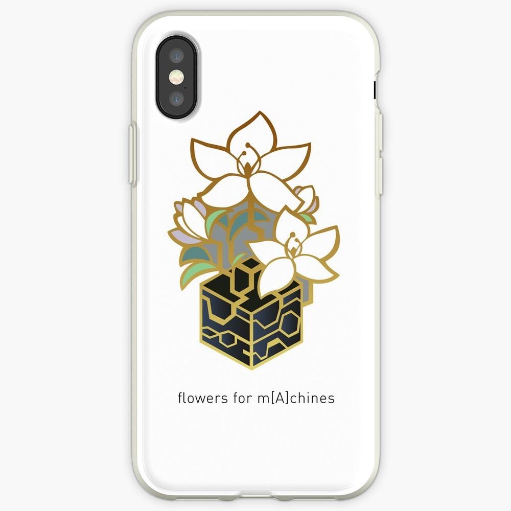 NieR: Automata - Blumen für m [A] chines iPhone-Hülle & Cover