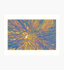 A Swirl of Grass II Art Print