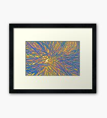 A Swirl of Grass II Framed Print