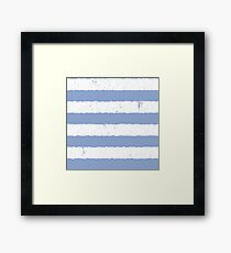 Pantone Color of the Year 2016 Serenity Framed Print