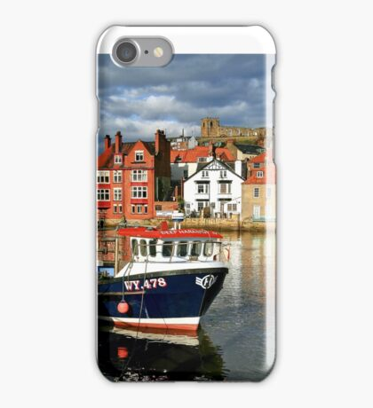 Late Afternoon Reflections on the River Esk iPhone Case/Skin