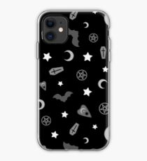 Vinilo o funda para iPhone Patrón Oculto Gótico