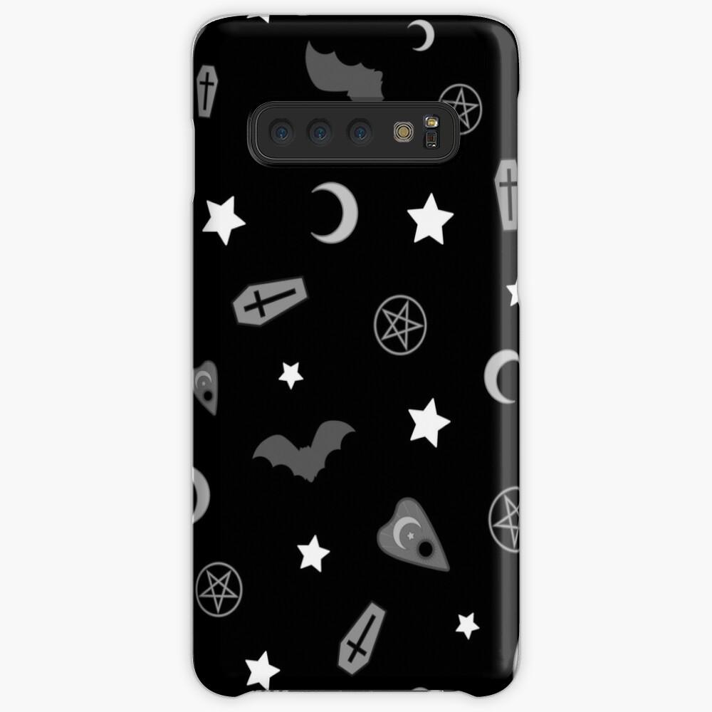 Goth okkulten Muster Hülle & Klebefolie für Samsung Galaxy
