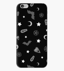 Goth Occult Pattern iPhone Case