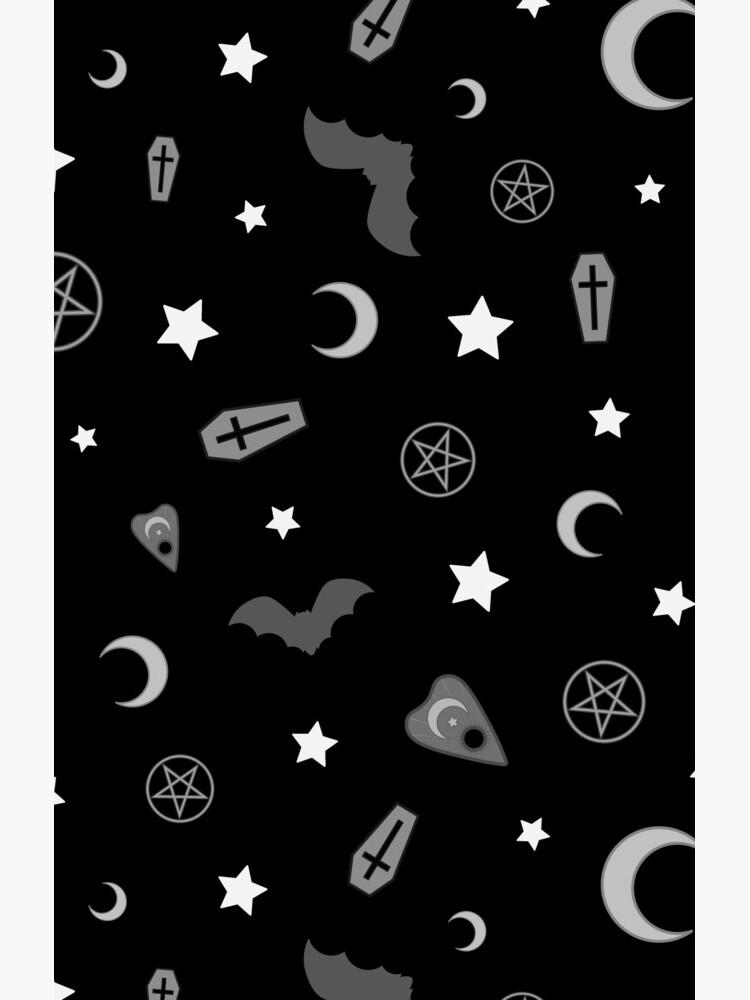 Goth okkulten Muster von deadimage