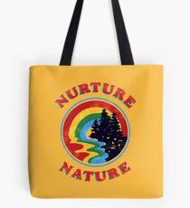 Nurture Natur Vintage Umweltschützer Design Tasche