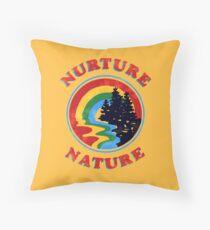 Cojín Nurture Nature Vintage Environmentalist Design