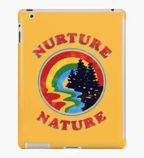 Nurture Nature Vintage Environmentalist Design iPad Case/Skin