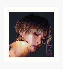 Bellydancer Taehyung by xxerru Art Print