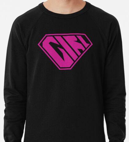 Girl SuperEmpowered (Pink) Lightweight Sweatshirt