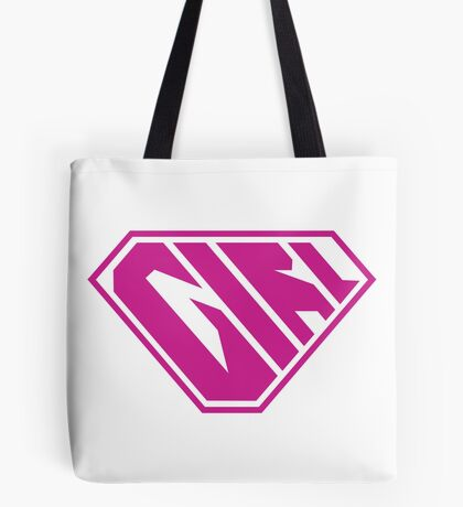 Girl SuperEmpowered (Pink) Tote Bag