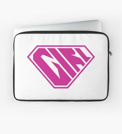 Girl SuperEmpowered (Pink) Laptop Sleeve