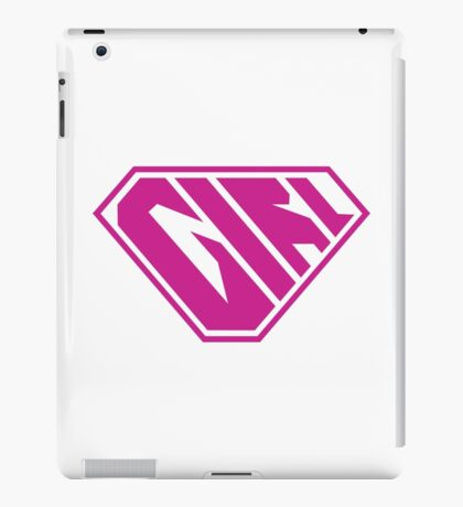 Girl SuperEmpowered (Pink) iPad Case/Skin