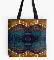 Golden kiss Tote Bag
