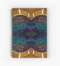 Golden kiss Spiral Notebook