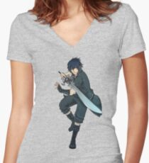 Noct Women's Fitted V-Neck T-Shirt