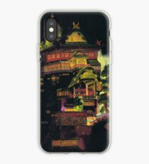 Spirited Away - Bath House at Night iPhone Case