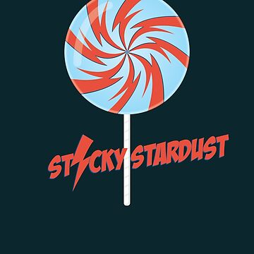 Sticky Stardust by modernistdesign