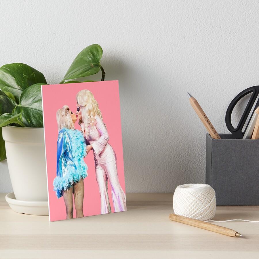 Trixya Kiss Show - Trixie Mattel and Katya Zamolódchikova by glitteringmist