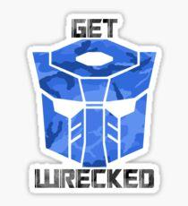 Get Wrecked Sticker
