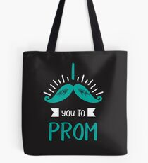 Funny Promposal! I Mustache You to Prom! Tote Bag