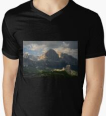 Evening at Cinque Torri V-Neck T-Shirt