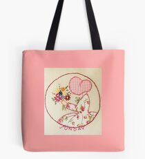 Sunny Sunday Bouqet Of Flowers  Bonnet Lady Tote Bag