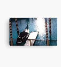 Water Valet Canvas Print
