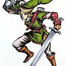 Zelda Link by Madelynjanelle
