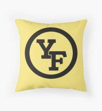 Yellow Fever logo Floor Pillow
