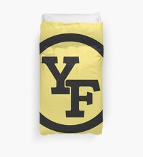 Yellow Fever logo Duvet Cover