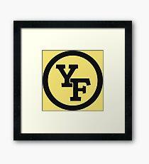 Yellow Fever logo Framed Print