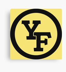 Yellow Fever logo Canvas Print