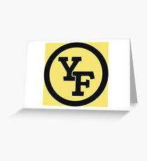 Yellow Fever logo Greeting Card