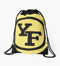 Yellow Fever logo Drawstring Bag