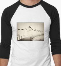 Wild geese Men's Baseball ¾ T-Shirt