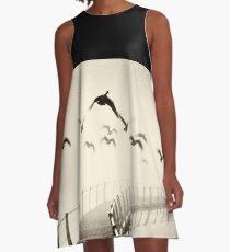 Wild geese A-Line Dress
