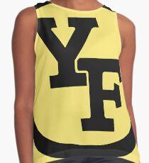 Yellow Fever logo Sleeveless Top