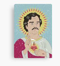 Saint Pablo Escobar Canvas Print