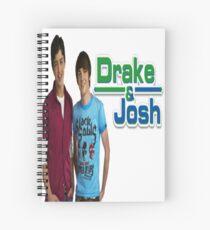 Cuaderno de espiral Drake y Josh