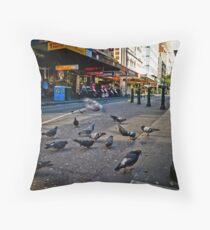 The Urban Environment Throw Pillow