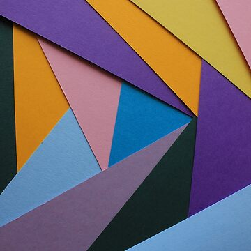 Colorful Paper Patterns by rhamm
