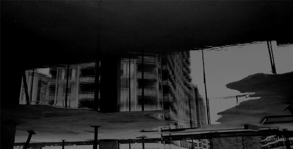 Reflection VII ( in Construction job site)...! by sendao