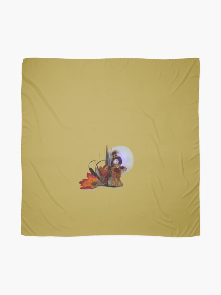 Alternative Ansicht von Halloween Scarecrow Tuch